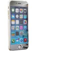 Case 4U Apple İphone 6 Aynalı Ekran Koruyucu Gümüş