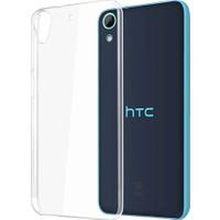 Case 4U HTC Desire 820 Soft Silikon Kılıf Şeffaf