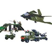 Cogo Lego Asker Seti Askeri Dağ Operasyonu 606 Parça