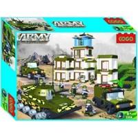 Cogo Lego Asker Seti Çöldeki Askeri Üssü 1010 Parça