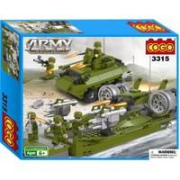Cogo Lego Asker Seti Deniz Ve Kara Operasyonu 509 Parça