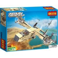 Cogo Lego Asker Seti Devriye Uçağı 509 Parça