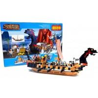 Cogo Lego Korsan Seti Büyük Korsan Gemisi 695 Parça