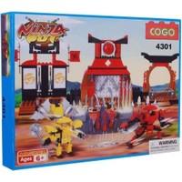 Cogo Lego Ninja Seti Savaşçı Ninjalar 350 Parça