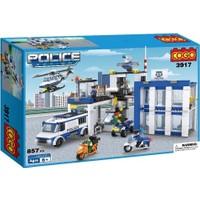 Cogo Lego Polis Seti Polis Merkezi 857 Parça