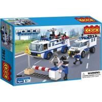 Cogo Lego Polis Seti Polis Takibi 368 Parça