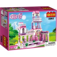 Cogo Lego Prenses Seti Prensesin Sarayı 254 Parça