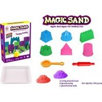 Toysetoys Kinetik Kum Magic Sand Eğlenceli Kaleler