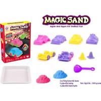Toysetoys Kinetik Kum Magic Sand Yarış Arabaları