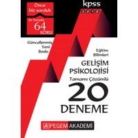 Pegem 2018 Kpss Eğitim Bilimleri Gelişim Psikolojisi Tamamı Çözümlü 20 Deneme
