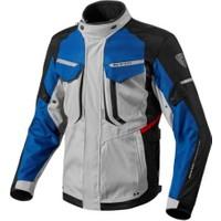 Revit Safari 2 Kışlık Motosiklet Montu (Mavi-Siyah-Gri)