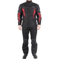 Armode Touring Kışlık Motosiklet Montu + Kışlık Motosiklet Pantolonu + Maske Takım
