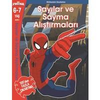 Marvel Spider:Man Sayılar Ve Sayma Alıştırmaları 6- 7 Yaş