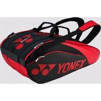 Yonex Pro 9629 9'Lu Tenis Çantası Kırmızı/Siyah