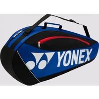 Yonex Club 5723 3'Lü Tenis Badminton Çantası Mavi Siyah