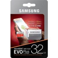 Samsung 32GB Evo Plus Micro SD Hafıza Kartı C10 U1 95MB/s