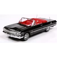 Welly Chevrolet Impala 1963-1.24 Ölçek Siyah