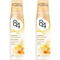 8X4 Sprey Deodorant Inspire 150 Ml Kadın - 2 Adet