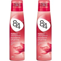 8X4 Sprey Deodorant Modern Charme 150 Ml Kadın