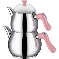 Taç Steamy Pembe Çaydanlık