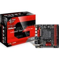 Asrock Fatal1ty AB350 Gaming-ITX/ac Ryzen AM4 Socket, DDR4 3466+ (OC), HDMI, DVI, Mini-ITX Oyuncu Anakart (ASRAB350-GITXAC)