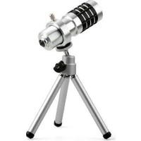 Markacase Samsung S8 Birebir Kılıflı 12X Zoom Teleskop Telefon Kamera Lensi