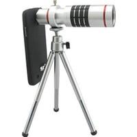 Markacase Samsung Note 4 Birebir Kılıflı 18X Zoom Teleskop Telefon Kamera Lensi