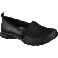 Skechers 23435 Bbk Ez Flex 3.0 - Songful Deri Babet Günlük Ayakkabı