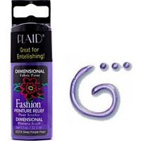 Plaid Boncuk Boyası 32,5Ml - 25218 Deep Purple Pearl