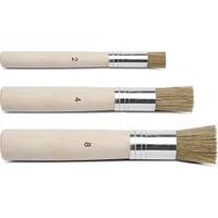 Hobi24 Stencil Fırça Seti 3' Lü