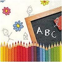 Hobi24 Dekupaj Peçete - First School Day 211259
