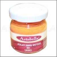 Artebella 3603 Turuncu Kolay Ebru Boyası 40Cc
