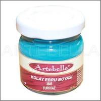 Artebella 3605 Turkuaz Kolay Ebru Boyası 40Cc
