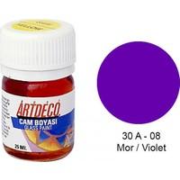 Artdeco Cam Boyası 25Ml - Mor