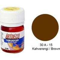 Artdeco Cam Boyası 25Ml - Kahverengi