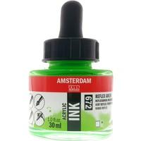 Talens Amsterdam Akrilik Mürekkebi 30Ml - N:672 Reflex Green
