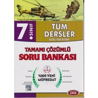 Data 7. Sınıf Tüm Dersler Özel Tek Kitap Tamamı Çözümlü Soru Bankası