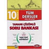 Data 10. Sınıf Tüm Dersler Özel Tek Kitap Tamamı Çözümlü Soru Bankası