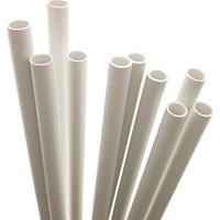 Mk Model Plastik Çıta Beyaz Boru İçi Boş 10Mm (10'Lu)
