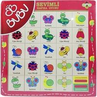 Bubu Ahşap Puzzle Hayvanlarhafıza Oyunu Bj-53Ap0062