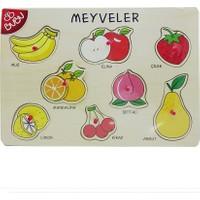 Bubu Ahşap Puzzle Meyveler Bj-53Ap0053