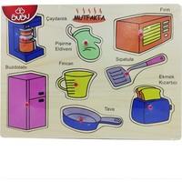 Bubu Ahşap Puzzle Mutfak Esyaları Bj-53Ap0057