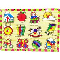 Bubu Ahşap Puzzle Oyuncaklar Bj-53Ap0059