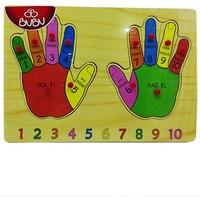 Bubu Ahşap Puzzle Parmaklar Bj-53Ap0056