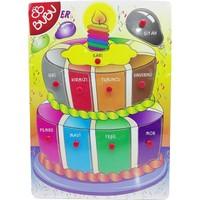 Bubu Ahşap Puzzle Renkler Bj-53Ap0055