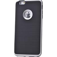 Case 4U Apple İphone 6S Korumalı Arka Kapak Gümüş