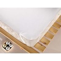 Eponj Home Sıvı Geçirmez Alez 160X200 Düz Boya Beyaz