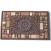 Giz Home Mozaik Kapı Paspası 45X75 Notre Dame