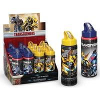 Transformers Pipetli Alüminyum Matara (600Ml) 52921