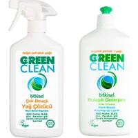 U Green Bulaşık Deterjanı Ve Çok Amaçlı Yağ Çözücü Seti 500 Ml